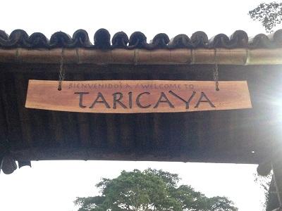 Départ pour Taricaya