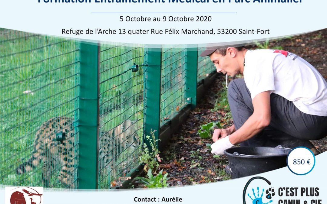 Formation Entrainement Médical en Parc Animalier – 05/10/2020